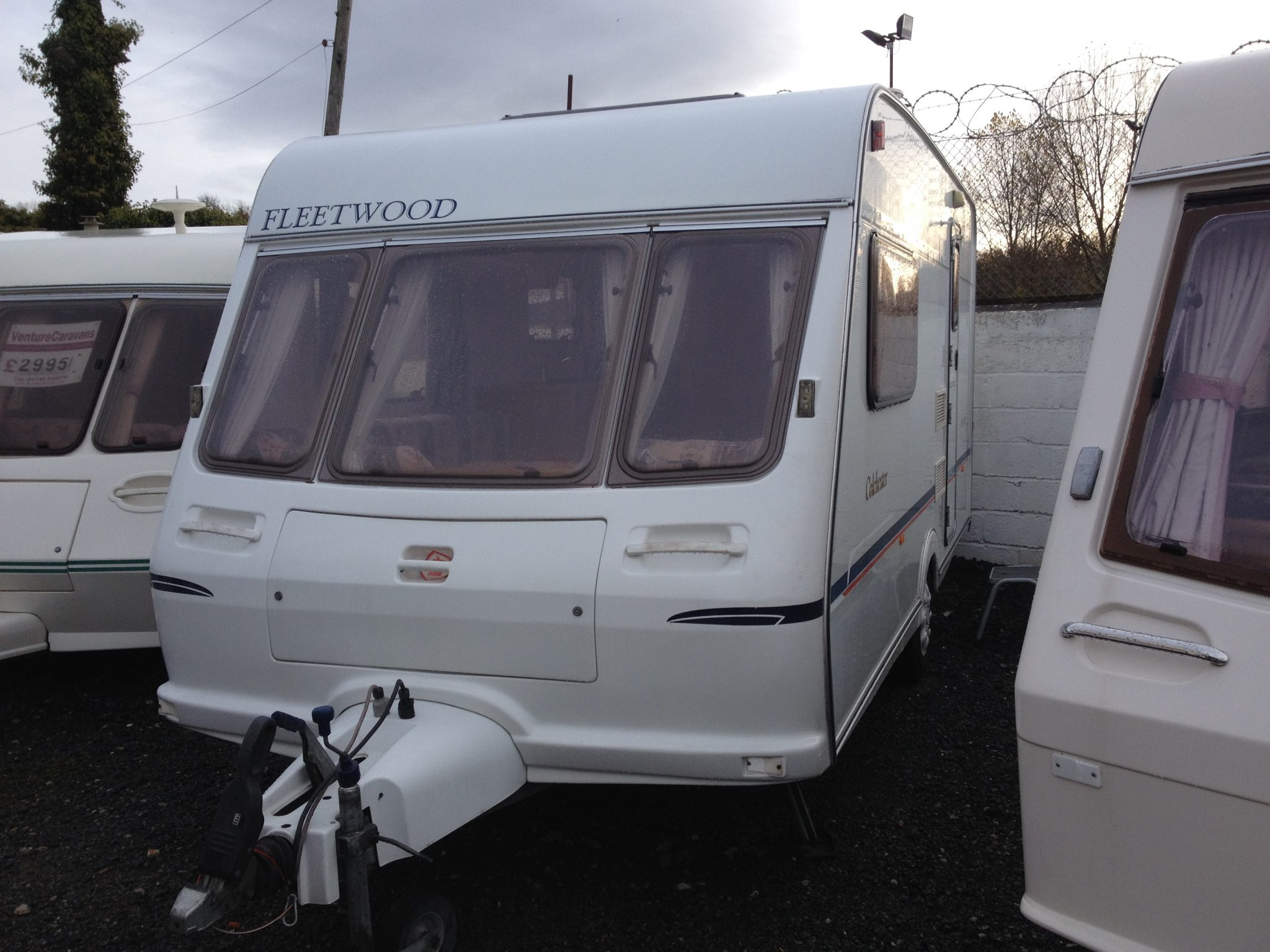 Awesome Fleetwood Colchester 1650eb 1998  Used Touring Caravan For Sale